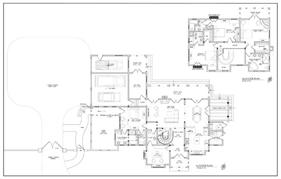 Liminare design home remodle design permit presentation for Spanish colonial floor plans
